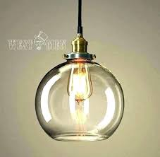 glass bubble lamp shade pendant ceiling light lights retro ball see larger image bu