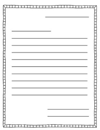 Blank Letter Template For Kids Awesome Save Printable Letter Format