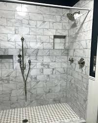 grey tiles in bathroom the beautiful new marble and grey hexagon tile shower grey porcelain floor