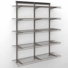 wonderful closetmaid shelftrack 4 ft wire shelf kit hayneedle closet maid shelves pics marvelous closetmaid shelftrack 20