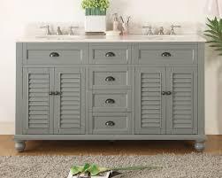 bathroom vanities cottage style. 62 inch bathroom vanity cottage beach style snow gray color (62\ vanities u
