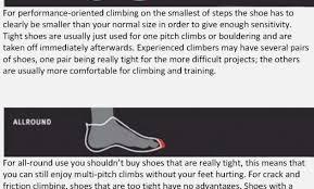 Climbing Shoe Size Chart La Sportiva Katana Womens Problem Solving La Sportiva Sizing