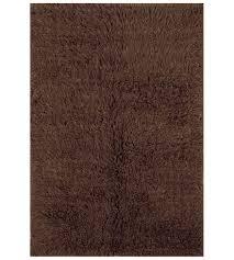 new flokati area rug cocoa image