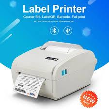 High speed 110mm USB/Bluetooth Thermal Label <b>Printer</b> Barcode ...