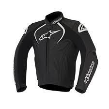 alpinestars jaws leather jacket black
