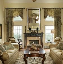 Stunning Exquisite Living Room Window Treatments Living Room Window  Dressing Ideas Bay Window Design Creativity
