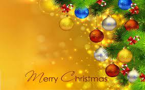 Merry Christmas Christmas Tree Colorful ...
