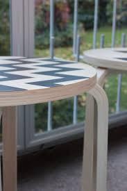 27 ikea painted stools