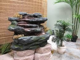 Garten Brunnen Stein Ideen Wasserfall Design 640640 Innen Brunnen