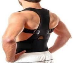Magnetic <b>Posture Corrector Adjustable</b> for Neck, Back & Abdominal ...