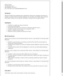 Sample Resume For Flight Attendant 1 Emirates Flight Attendant Resume Templates Try Them Now