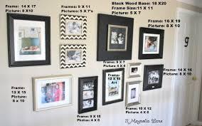 diy photo gallery wall 11 magnolia lane