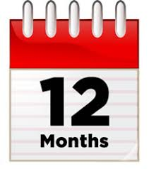 12 month infographic 12 months of planning for social media marketing