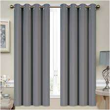 Living Room Curtain Panels Mellanni Thermal Insulated Blackout Curtains 2 Panels Window