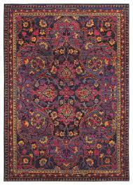 oriental weavers bohemian 2268m navy pink oriental area rug traditional area rugs by rugmethod