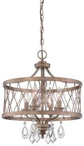 west liberty 4 light semi flush mount convertible to mini chandelier in olympus gold