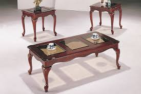 antique coffee tables. Glass Top Counter Height Dining Table Pcs Coffee Set Antique Cherry Finish Panel For Beautiful Tables E