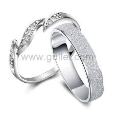 matching silver wedding bands. names engraved silver men and women unique wedding bands matching