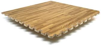 Oak Floor Tiles for Trade Show Booths and Conventions