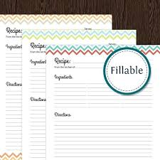 Excel Recipe Card Template Askaboutsports Info