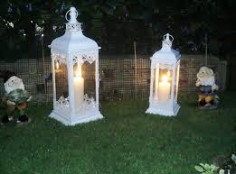Lanterne Per Esterni Da Giardino : Lanterne da giardino faretti che riempivano la candela collocati