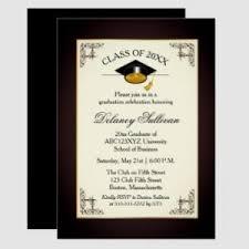 Formal Graduation Announcements College Graduation Party Invitation College Graduation Announcements