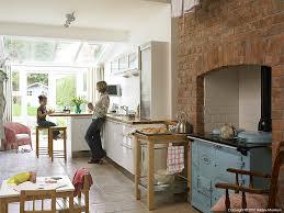 Kathy Reid  Her Daughter In The Kitchen Of Their Edwardian Semi - Edwardian house interior