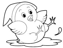 Little Cute Hippo Coloring Page Pages Sheets Animal Drawings For