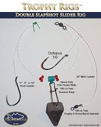 Slap Shot Slider Fishing Rigs Trophy Rigs