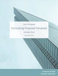 Consultancy Template Free Download Consulting Proposal Template Free Download Bidsketch