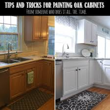 amusing painting oak kitchen cabinets before and after 9 for