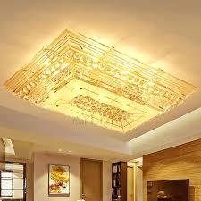 flush chandelier lighting dramatic rectangular shaped crystal flush mount ceiling lights semi flush mount pendant lighting