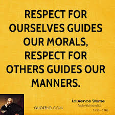 Quotes About Respecting Others Best Laurence Sterne Quotes QuoteHD