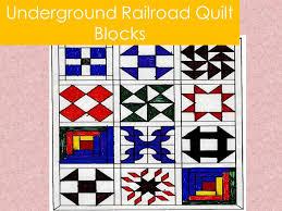 Underground Railroad Quilt Patterns Extraordinary Underground Railroad Quilt Blocks Ppt Video Online Download