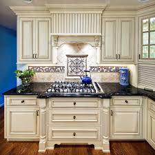 Decorating Elegant Kitchen With Cool Tile Backsplash Designs Delectable Kitchen Backsplash With Granite Countertops Decoration