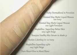 Maybelline Superstay Foundation Light Beige Swatch Foundations For Pale Fair Skin Fair Skin Skin Shades