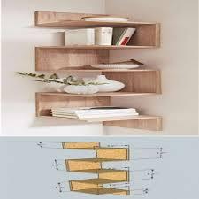 20 diy corner shelves to beautify your awkward corner concept for modern bookshelf plans