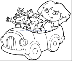 Dora Printable Coloring Pages Inspirationa Printable Coloring Pages