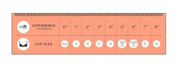 Bra Size Calculator How To Figure Out Your Cup And Band Size
