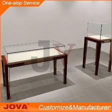 custom made used jewelry display cases modern wooden mirror jewelry display cabinet gl jewellery
