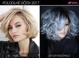účesy Pre Polodlhé Vlasy 2017 Nová Galéria Pre Zimnú Sezónu Vlasy