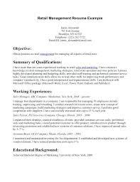 Sales Resume Objective Statements Good Resume Objectives Samples