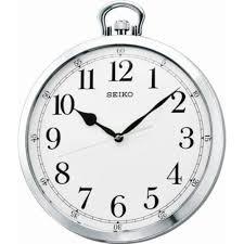seiko wall clock pocket watch style qxa633s
