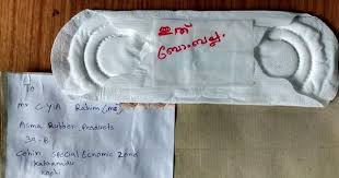 Kerala activists fight <b>menstrual</b> taboos by mailing <b>napkins</b> to factory ...