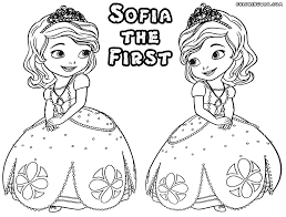 Clover The Rabbit From Sofia First Coloring Page Free Printable