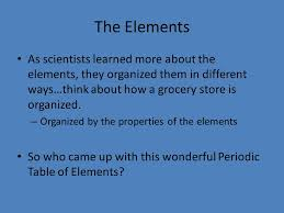 Chapter 6.1, 6.3 The Periodic Table - ppt video online download