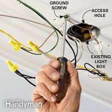 how to wire a finished garage the family handyman photo 13 ground the light fixture