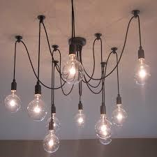 cord lighting. Interesting Lighting Modern Glass Pendant With E27 Hoder Lights Vintage Cord Lamp  Hanging Light Fixture Black Wire In Lighting