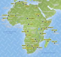 Африка страны города и курорты карта Африки отзывы фото и видео Африка