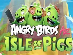 Angry birds AR isle of pigs: Angry Birds AR Isle of Pigs is now available  on Android - Times of India